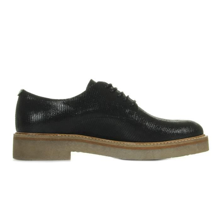 Baskets Kickers Oxfork Noir