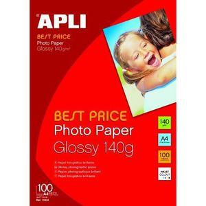 PAPIER PHOTO Agipa Pochette de 100 feuilles papier photo bri…