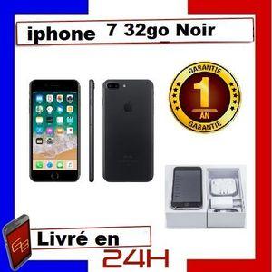 SMARTPHONE RECOND. Apple Iphone 7 - 32Go Noir / Reconditionné. Charge