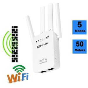 MODEM - ROUTEUR 1200Mbps Dual Band 2.4 - 5G Wireless Range Extende