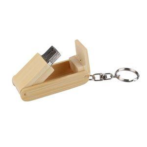 CLÉ USB Hot Vente de vente clé USB en bois 2.0 32Go flash