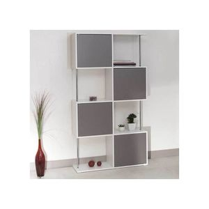 Etagere taupe achat vente etagere taupe pas cher - Etagere bibliotheque pas cher ...