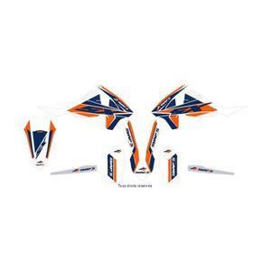 RTECH Plastique Kit s/'adapte à KTM EXC SX 03-07 ORANGE