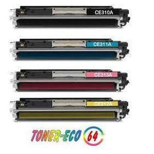 TONER 4 Toner compatible pour HP CP1025  CP1025NW