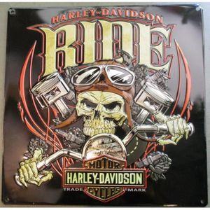 Decoration Murale Harley Davidson