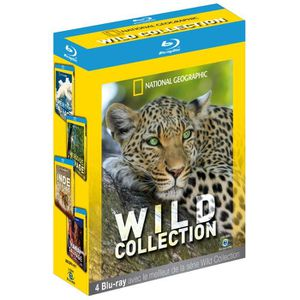 BLU-RAY DOCUMENTAIRE Coffret WILD  COFFRET 4 BR
