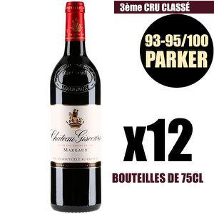 VIN ROUGE X12 Château Giscours 2016 Rouge 75 cl AOC Margaux