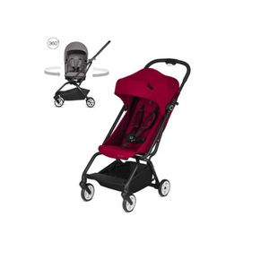 POUSSETTE  Cybex - Poussette EEZY S TWIST Racing Red - rouge