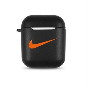 Coque AirPods compatible housse TPU couche en silicone Étui ultra léger anti rayures et Antichoc accessoires AirPods Nike