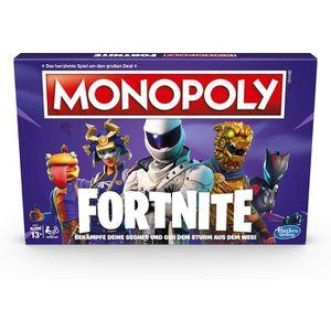 JEU SOCIÉTÉ - PLATEAU Monopoly Fortnite, Jeu de société à partir de 13 A