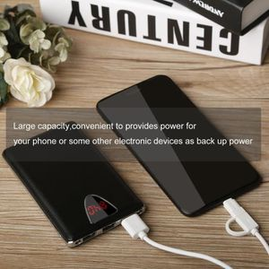 BATTERIE EXTERNE 50000mAh Batterie Portable Power Bank 2 LED 3 Char