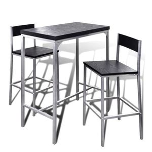 TABLE À MANGER COMPLÈTE Ensemble de meuble de salle à manger Jeu de bar pe