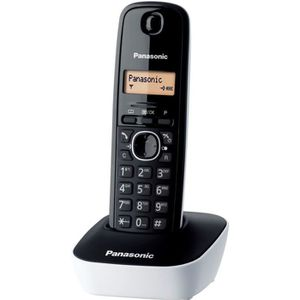 Téléphone fixe Panasonic KX-TG1611FRW Solo Téléphone Sans Fil San