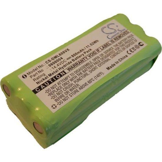Batterie Aspirateur 800mAh pour Dirt Devil Libero M606 0606004