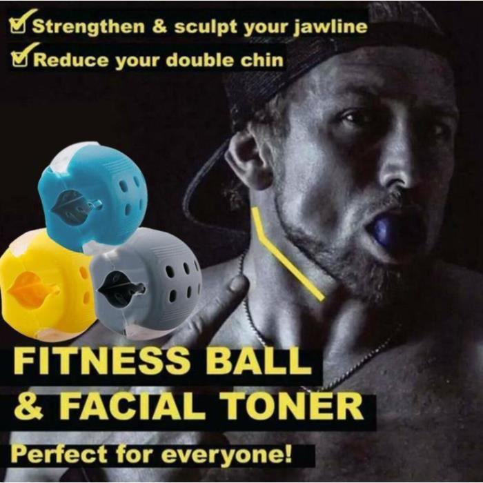 Appareil de formation des muscles du visage Plastifiant de remise en forme des muscles du visage - Trois ensemble