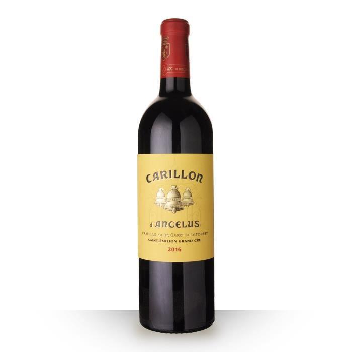 Le Carillon de L'angélus 2016 AOC Saint-Emilion Grand Cru - 75cl - Vin Rouge