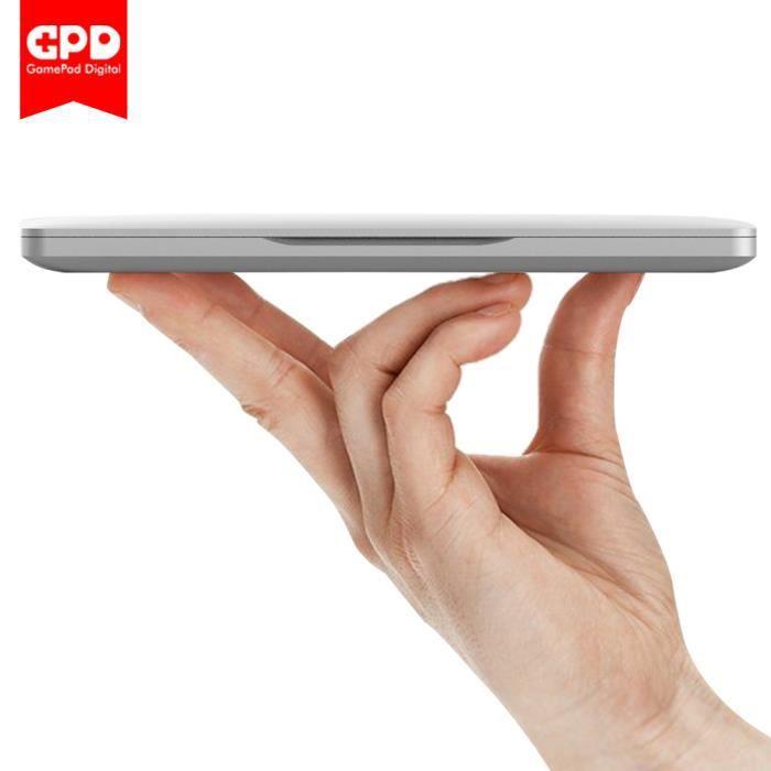 Nouveau Original Gpd Pocket 7 Pouce Mini Ordinateur Portable Umpc Windows 10 Système(Argent)