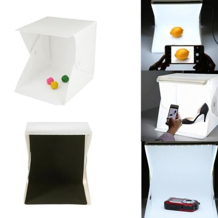 Mini studio 9 - boîte à lumière Photo Soft box Mini photo studio photograghy Softbox Led Photo Éclairage Studio Tir tente Boîte
