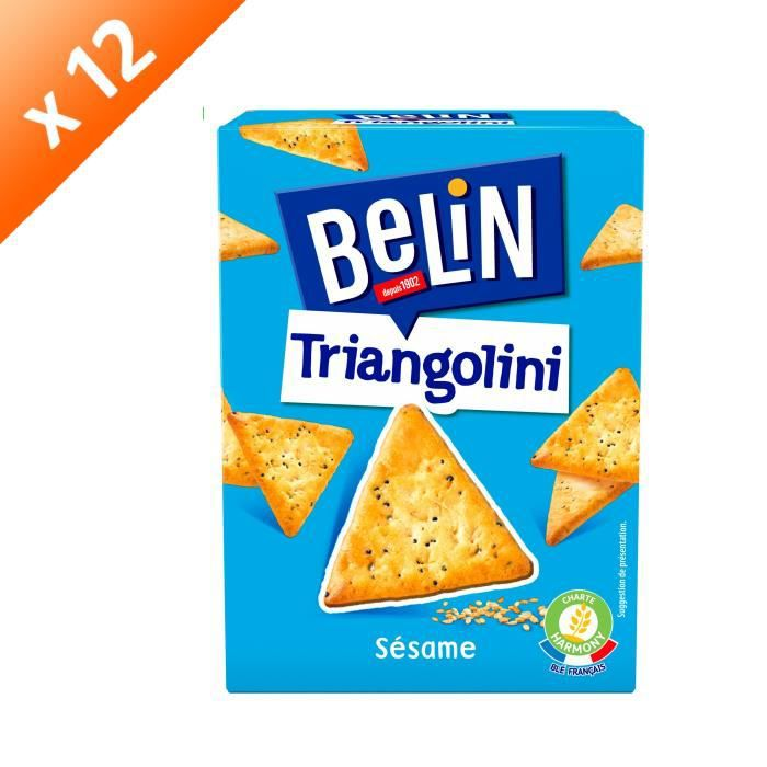 [LOT DE 12] BELIN Biscuits crackers - 100 g