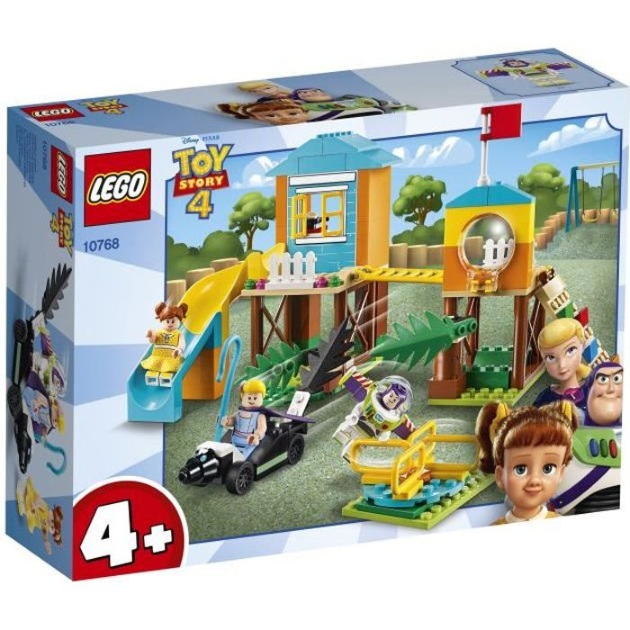 LEGO® 4+ TOY STORY™ 10768 L'aventure de Buzz et la Bergère dans l'aire de jeu