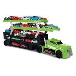 Logitoys Camion de transport avec véhicules