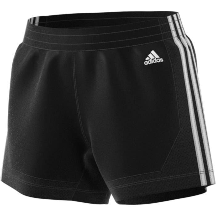 Short femme adidas 3-Stripes 5-Inch Mesh