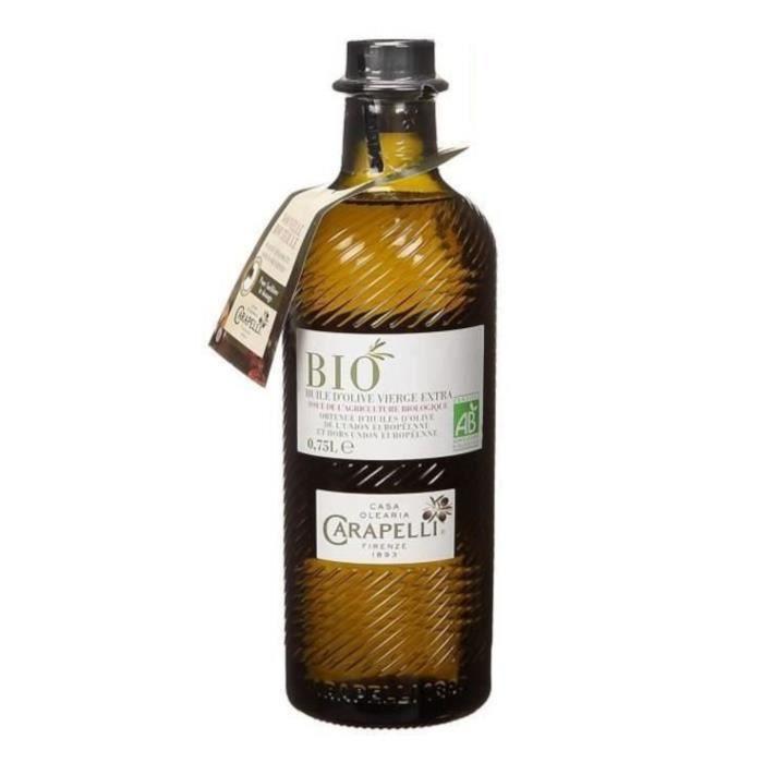 Huile d'olive vierge extra bio 75 cl Carapelli