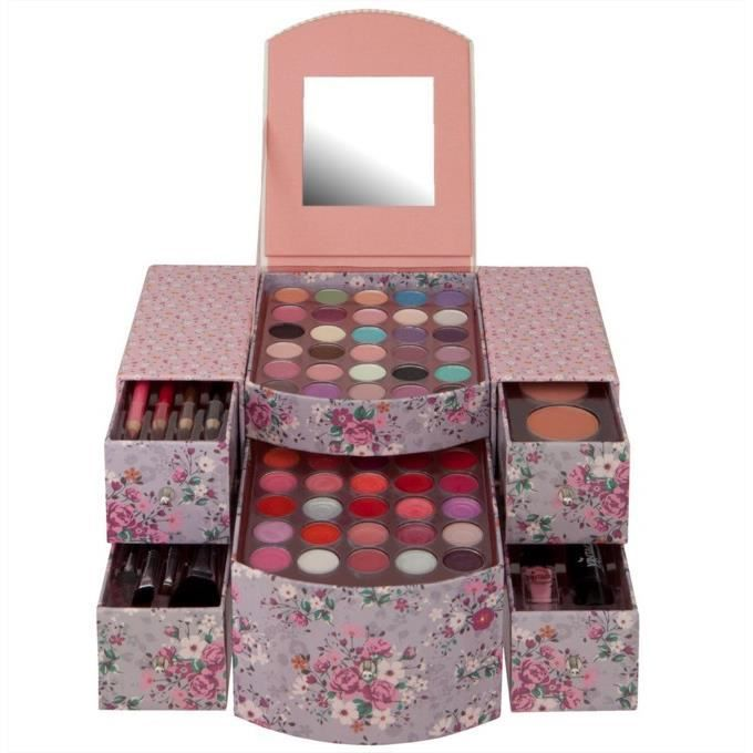 coffret maquillage vintage achat vente palette de maquillage coffret maquillage vintage. Black Bedroom Furniture Sets. Home Design Ideas