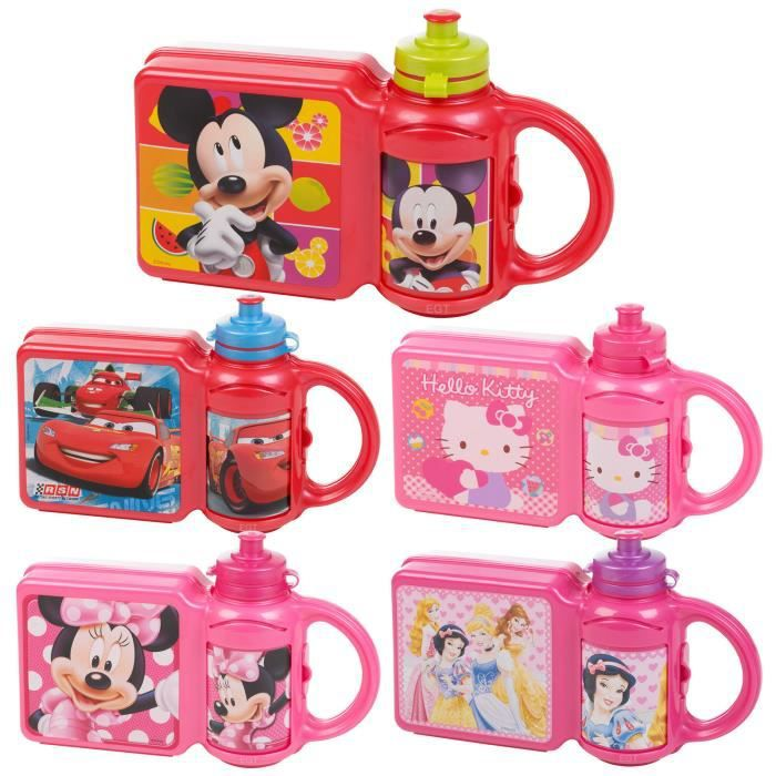 boite a gouter gourde disney mickey minnie cars achat vente boites de conservation boite a. Black Bedroom Furniture Sets. Home Design Ideas