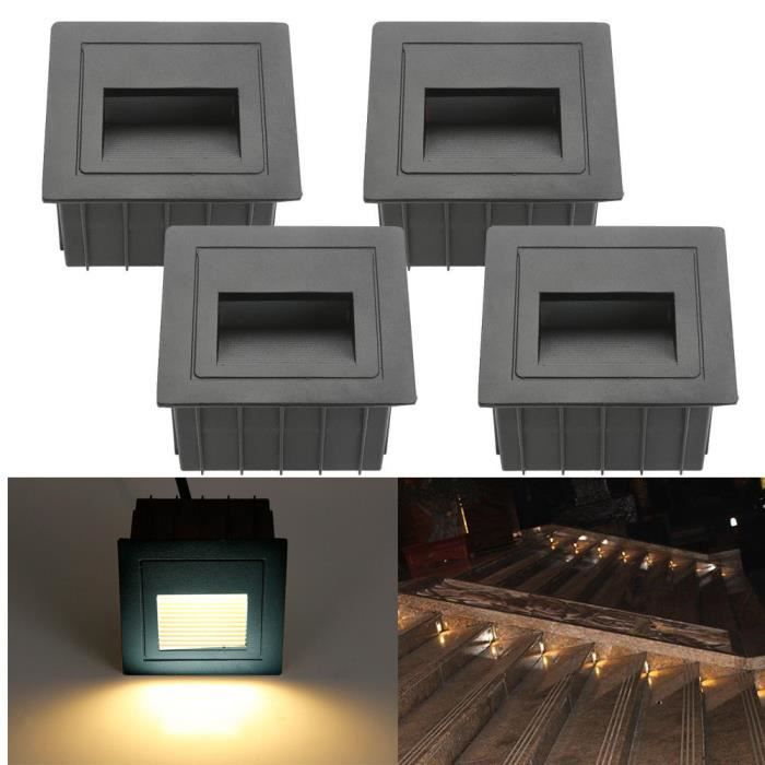 fvtled 2 5w led escaliers couloir tape clairage imperm able avec bo te incorpor e achat. Black Bedroom Furniture Sets. Home Design Ideas