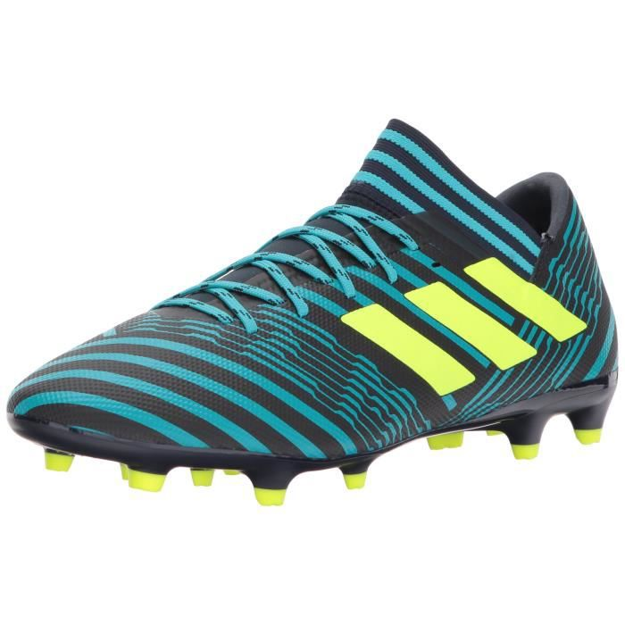 Chaussures 39 ferme Taille sol Football 3 Crampons 17 1BE186 ADIDAS Nemeziz OyNmwPv8n0