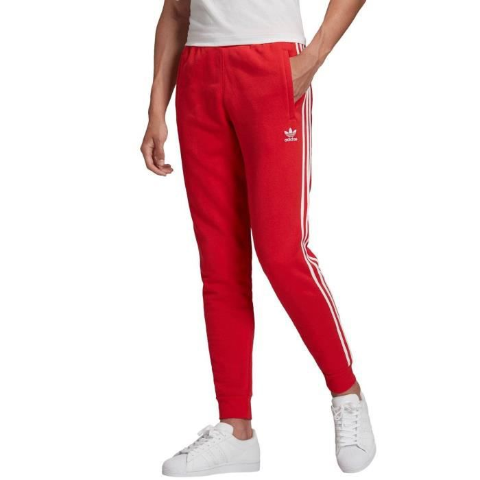 pantalon adidas 3 stripes bordeaux femme