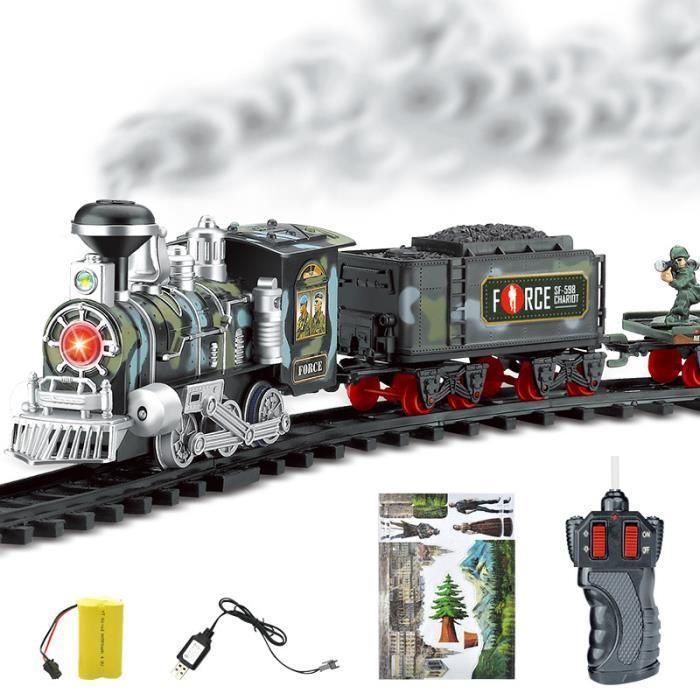 UNIVERS MINIATURE Train de piste de télécommande électrique de fumée