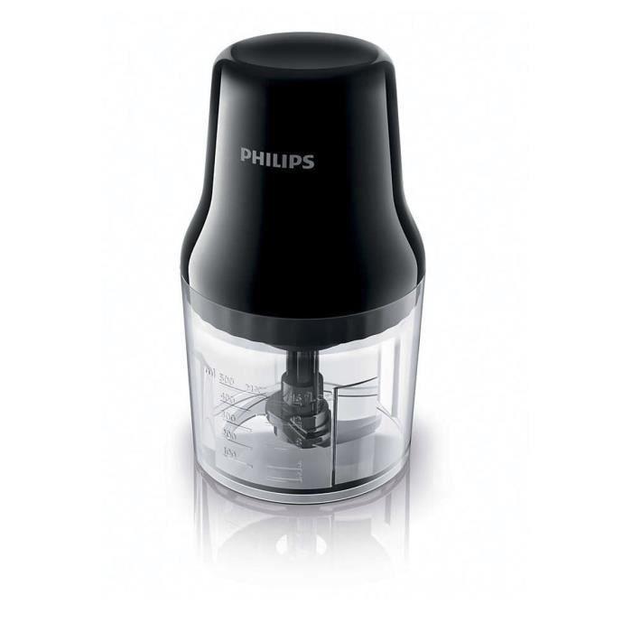HACHOIR ÉLECTRIQUE Philips HR1393-91 Légumes Herbes Noix Cuisine Robo