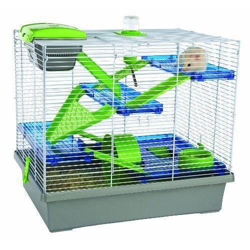 animalerie rongeurs rosewood cage pour hamster pico xgrande argente f  ros