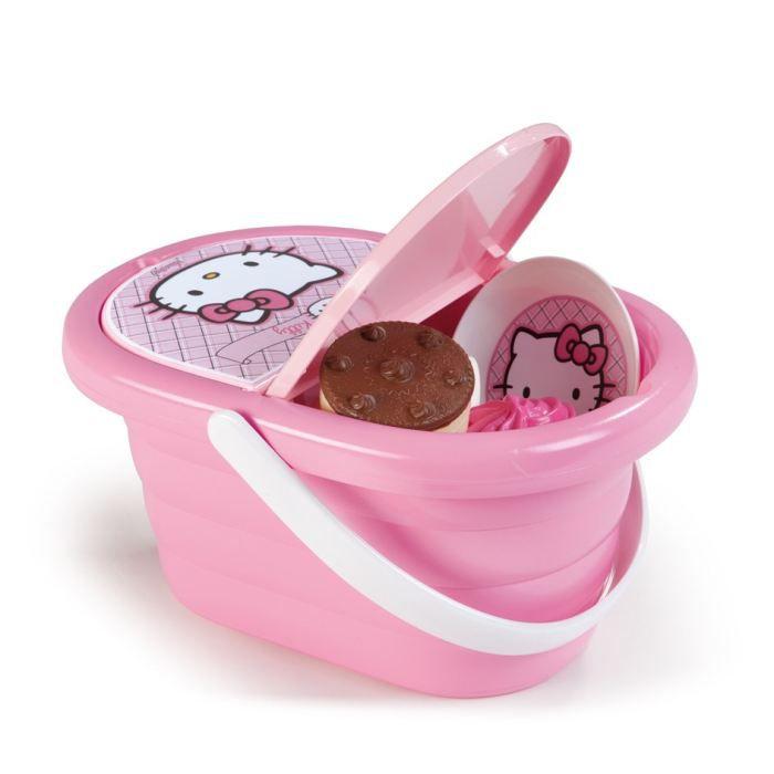 Hello Kitty Panier Et Dinette Gourmandises Achat Vente Dinette