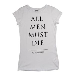 T-SHIRT GAME OF THRONES T-shirt Femme 1006769 - 100% coton