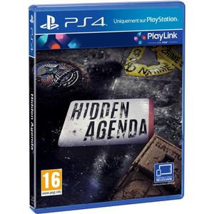 JEU PS4 Hidden Agenda Jeu PS4-PlayLink