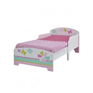 lit enfant fille avec matelas achat vente pas cher. Black Bedroom Furniture Sets. Home Design Ideas