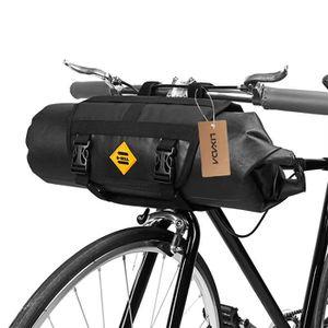 4 Couleurs Sac Avant V/élo VTT Sacoche de Guidon Pannier Byciclette en Tissu Oxford pour Cyclisme Randon/ée Sports Ext/érieurs