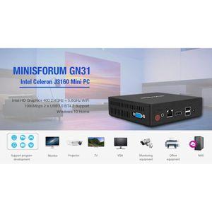 UNITÉ CENTRALE  Mini PC Licence Windows 10 MINISFORUM GN31 UnitÉ C