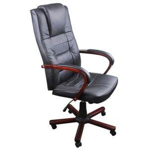 CHAISE DE BUREAU Fauteuil de bureau Chaise de bureau en cuir mélang