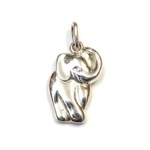 PENDENTIF VENDU SEUL Pendentif éléphant en argent 925 - RC005223
