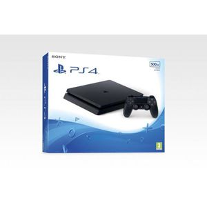 CONSOLE PS4 CONSOLE PS4 SLIM - 500 GB BLACK