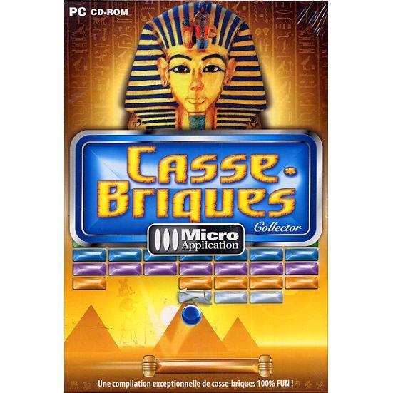 CASSE-BRIQUES COLLECTOR / JEU PC CD-ROM