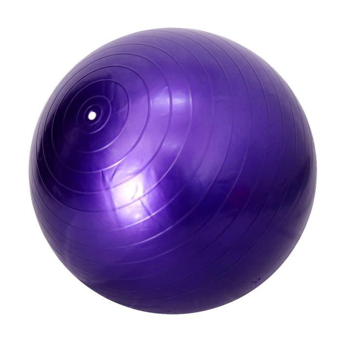 45/85 cm Soft Ballon de Yoga Anti-Eclat Exercice GYM Balles de Pilates 45cm Violet