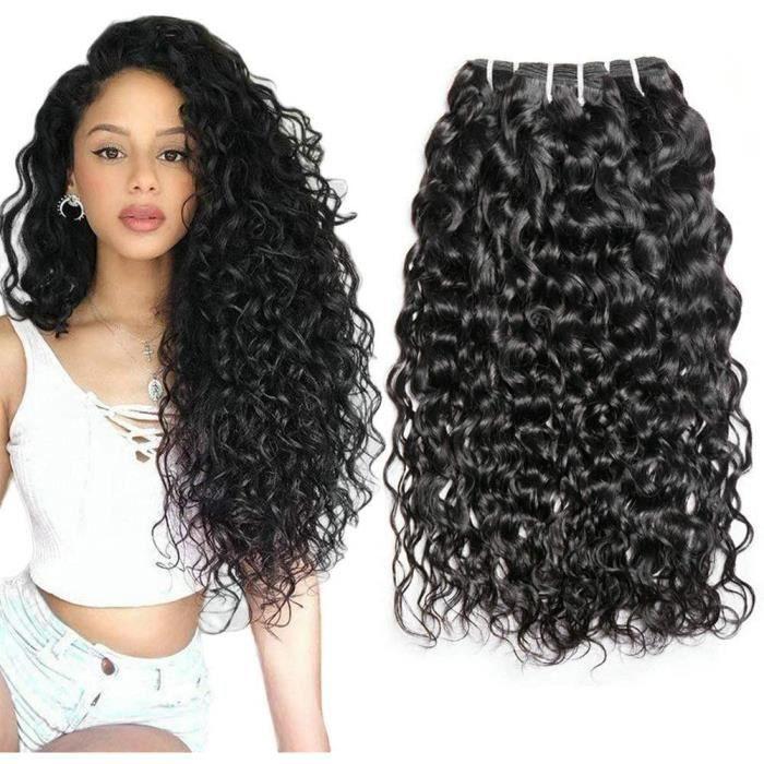 Cheveux Naturel Brésilienne Cheveux Bresilien Tissage Vague Brésilienne De Cheveux Humains Tissage Bresilien Boucle 18 18 18 Inch