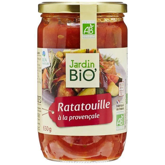 Jardin Bio Ratatouille 650 g - Lot de 3