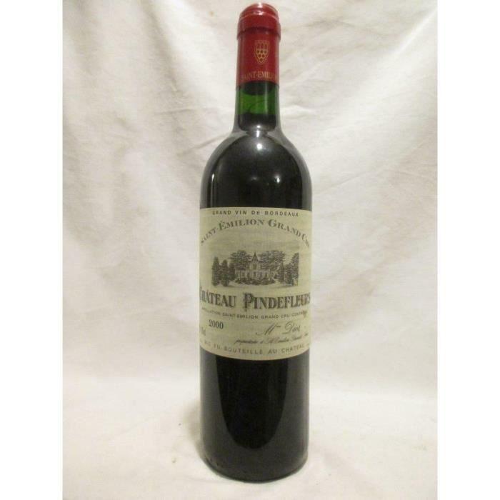 saint-émilion château pindefleurs grand cru rouge 2000 - bordeaux