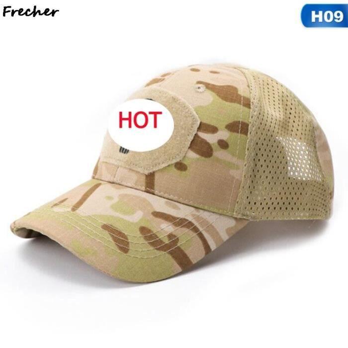 Casquette de Baseball, Camouflage militaire tactique de l'armée, Combat, Paintball, Football, classique réglable, [7F01D27]
